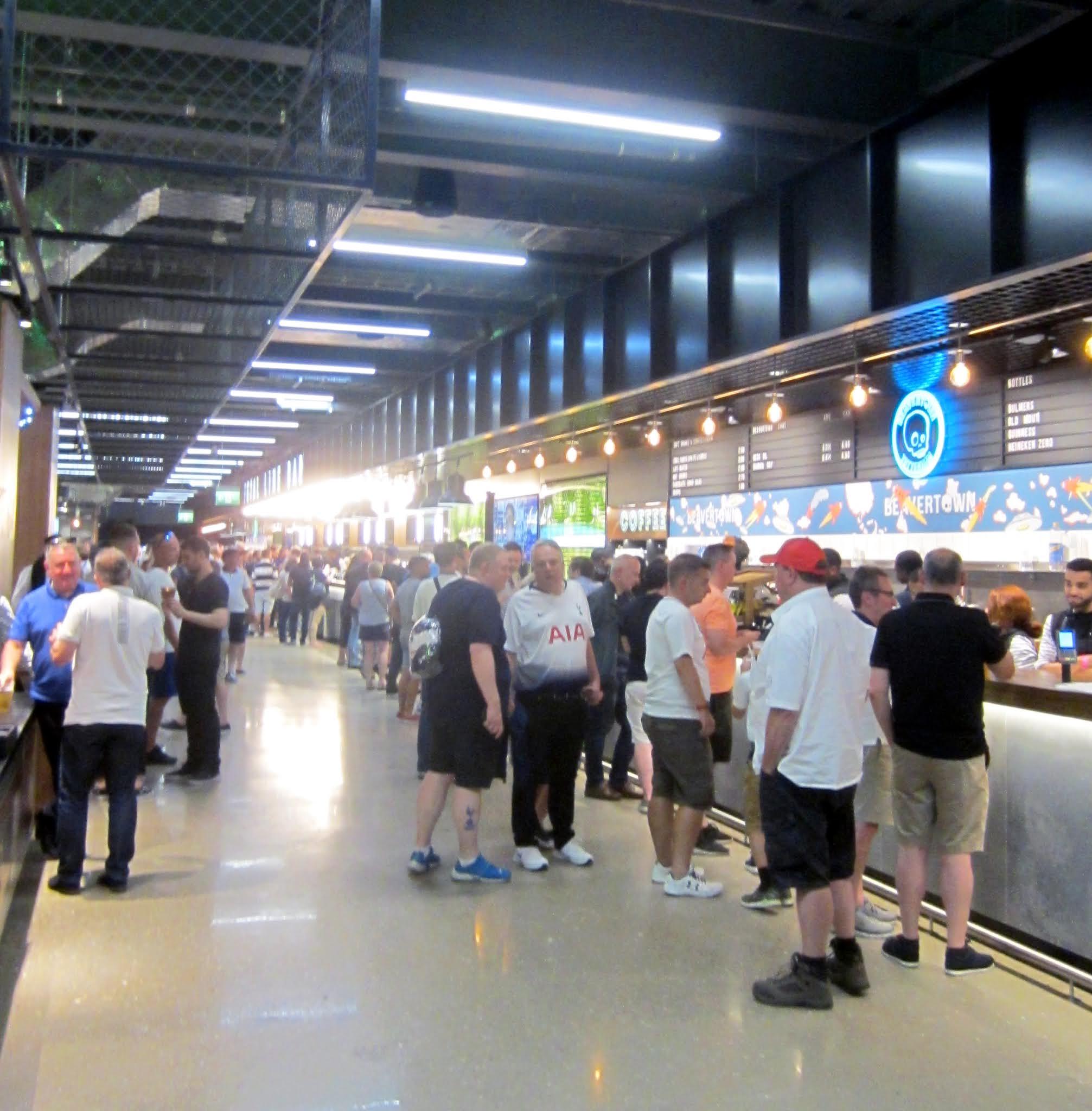 Goal Line Bar at Tottenham Hotspur Stadium
