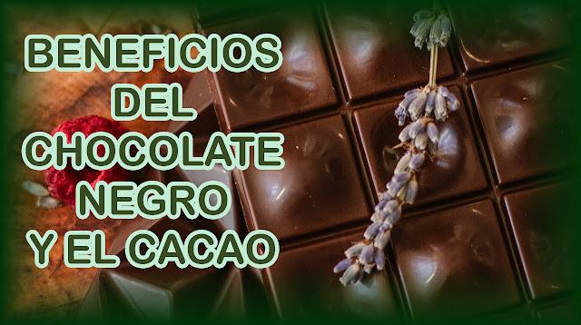 Beneficios del chocolate negro y el cacao para la salud y para adelgazar según la ciencia