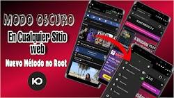 MODO OSCURO EN CUALQUIER PÁGINA WEB / NO ROOT