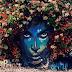 Ένα λουλουδένιο πορτρέτο στη μνήμη του Prince