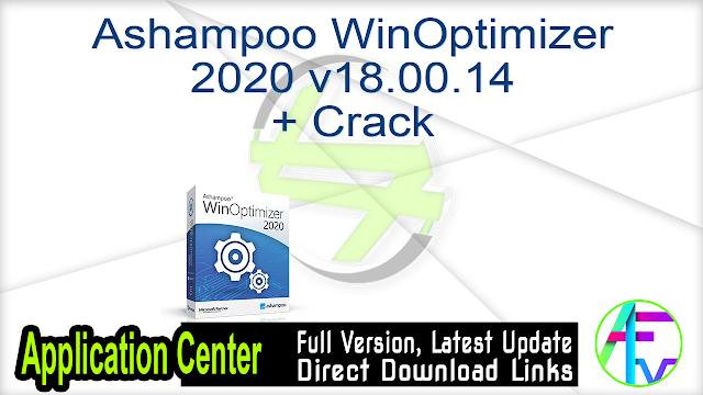 Ashampoo WinOptimizer 2020 v18.00.14 + Crack