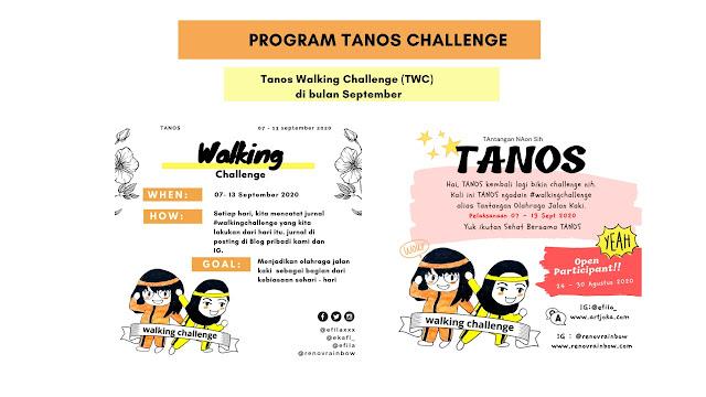 tantangan jalan kaki setiap hari