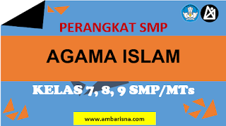 Download RPP 1 Lembar PAI SMP Kelas 7, 8, 9 Terbaru