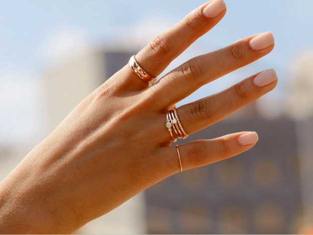 AuRate Stackable Rings #ad
