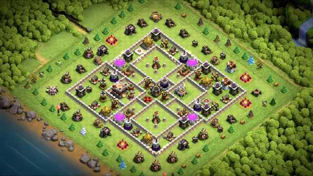 clash of clans th11 anti 3 star war base 2020