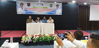 Kadis DPMD Kabupaten Muaro Bungo Buka Bimtek Pengelolaan Keuangan Desa Dan Aplikasi Siskeudes 2.0.Bagi Aparatur Dusun.