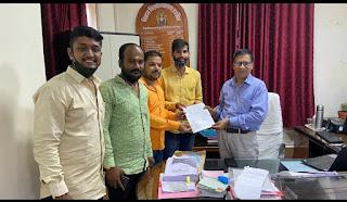 Dewas - ABVP की मांग पर LLM पाठ्यक्रम की संबद्धता के लिए कुलपति ने दिए आदेश   Kosar Express