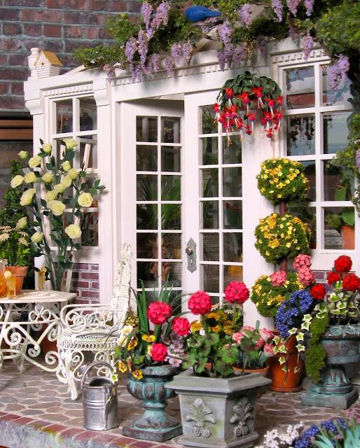 dollhouse conservatory