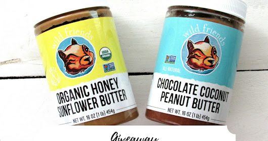 GIVEAWAY (2 jars of Wild Friends nut butters)