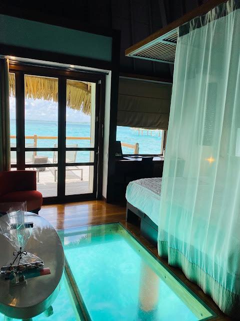 Review Le Meridien Bora Bora Glass Bottom Floor