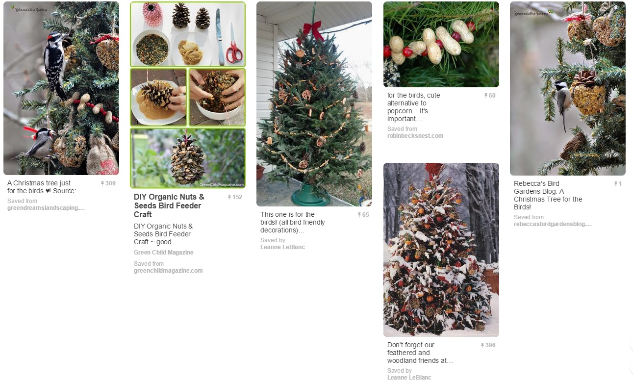 lay the tree down in the corner of your yard to provide shelter for wildlife not only for the little mammals but for beneficial insects as well - Outdoor Christmas Tree Decorations For Birds