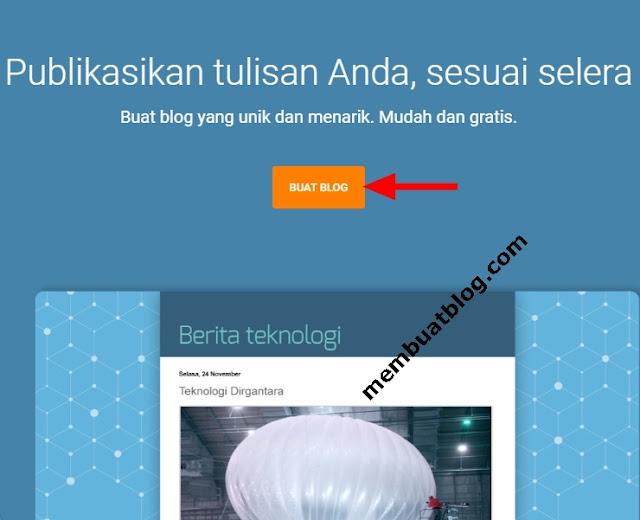 Cara Terbaru Membuat Blog Gratis di Laptop/HP Android untuk Pemula