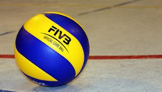 ukuran bola voli resmi