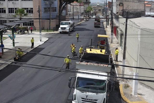 PREFEITURA DO NATAL RECUPERA PRINCIPAIS CORREDORES DE TRANSPORTE PÚBLICO DA CAPITAL