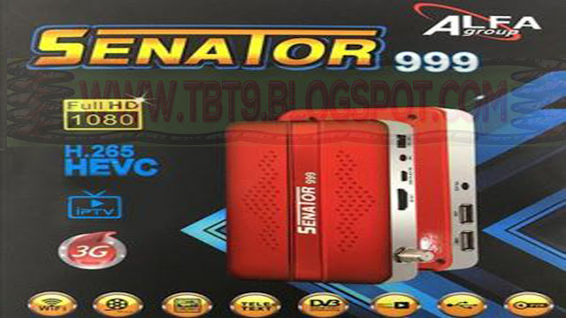 SENATOR 999 8MB 1506G POWERVU TEN SPORTS OK