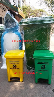 thùng rác y tế theo thông tư 58