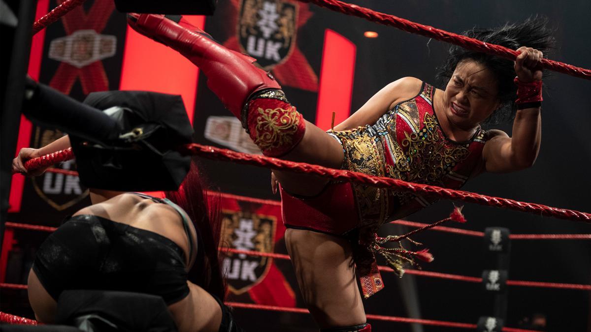 Meiko Satomura and Kay Lee Ray on WWE NXT UK
