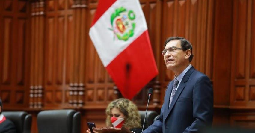 VACANCIA PRESIDENCIAL: Lea aquí los argumentos de defensa del presidente Martín Vizcarra ante el Congreso de la República