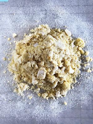 pasta dough on the counter