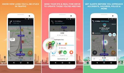 Waze - GPS, Peta & Lalu Lintas