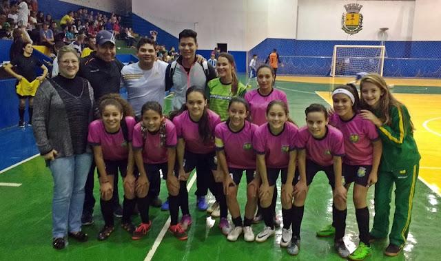 Especial 63º JEP's: Futsal Feminino de Roncador vence Fênix por 3 a 1