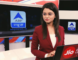 Beautiful Indian TV News Reporter Pic, lovely Indian TV News Reporter Pic