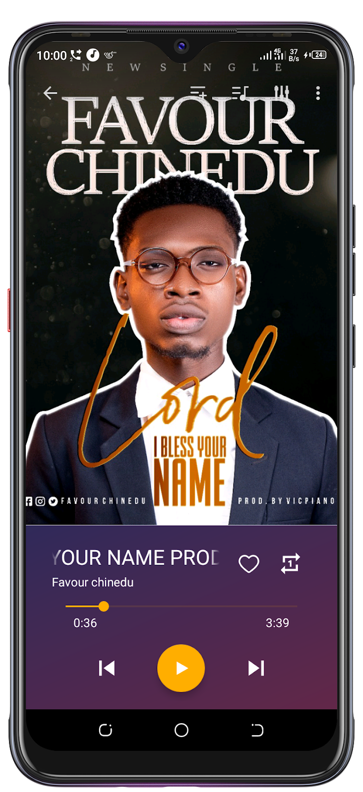 FAVOUR CHINEDU-LORD I BLESS YOUR NAME