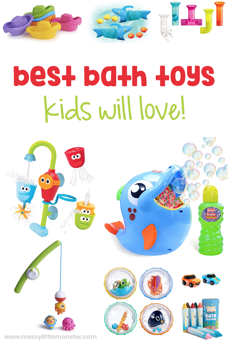 20 best bath toys, including baby bath toys, bath toys for toddlers and kids bath toys.