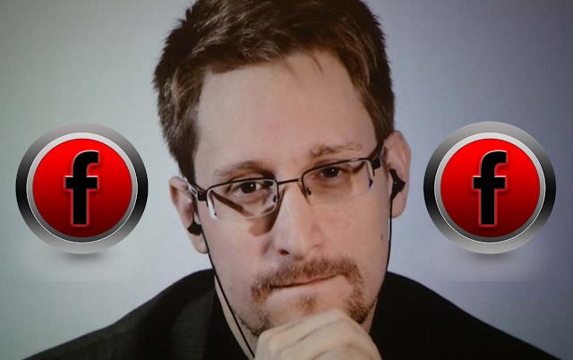 إدوارد سنودن يحذرك أن فيسبوك facebook يتجسس عليك