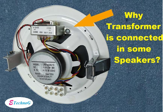 use of transformer in speaker