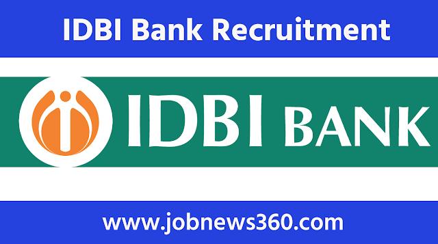 IDBI Bank Recruitment 2021 for Executive