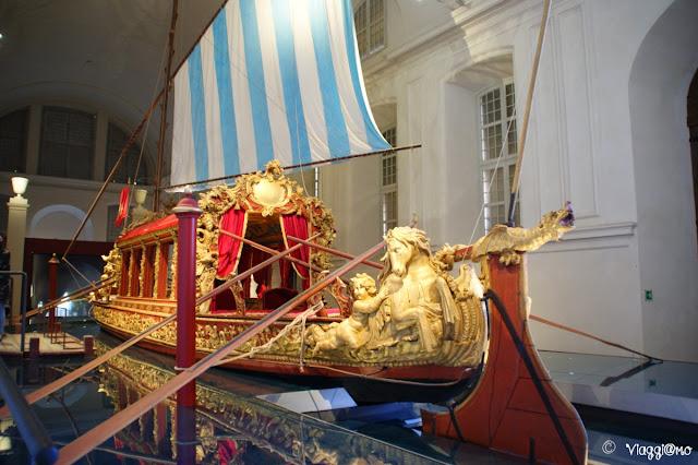 Il Bucintoro dei Savoia è l'unico esemplare rimasto, di questa imbarcazione, al mondo