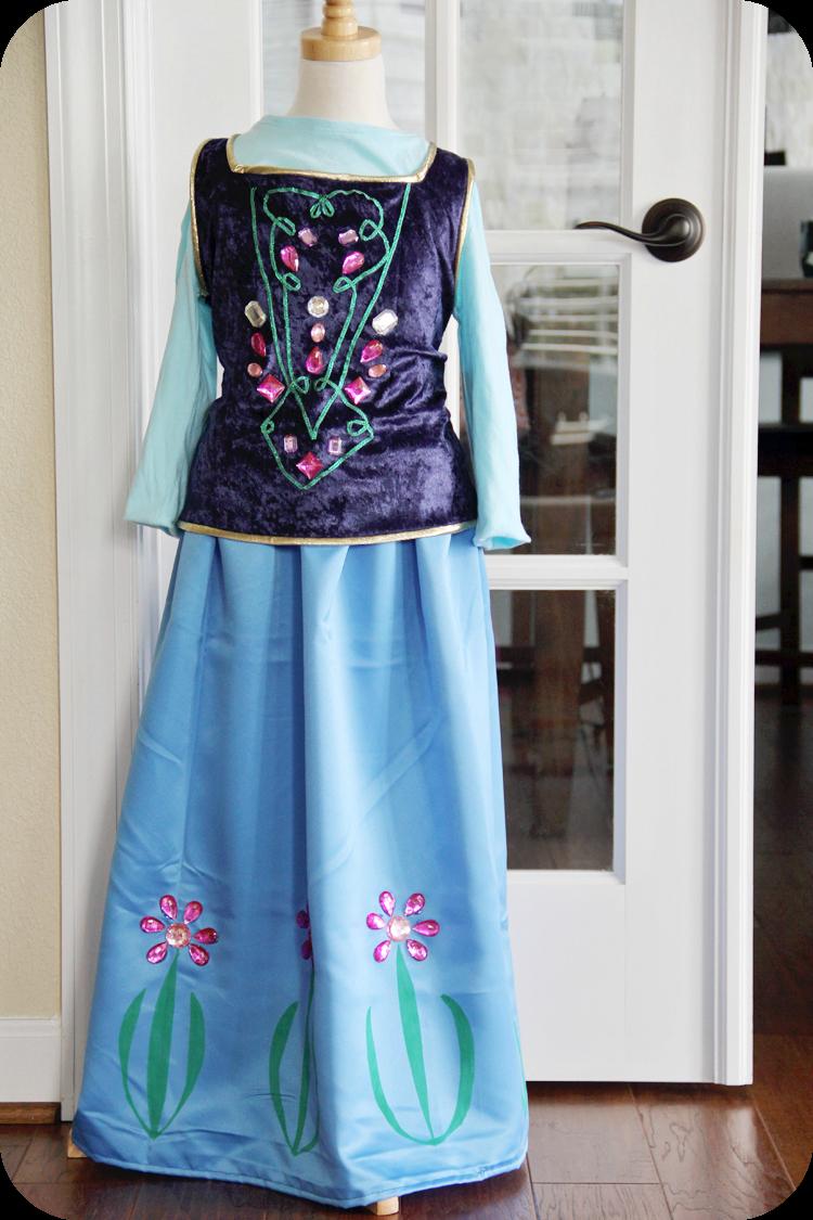 costume di Anna (frozen)