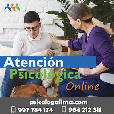 atención psicológica online Perú