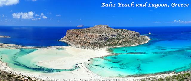 Balos Beach and Lagoon, Greece