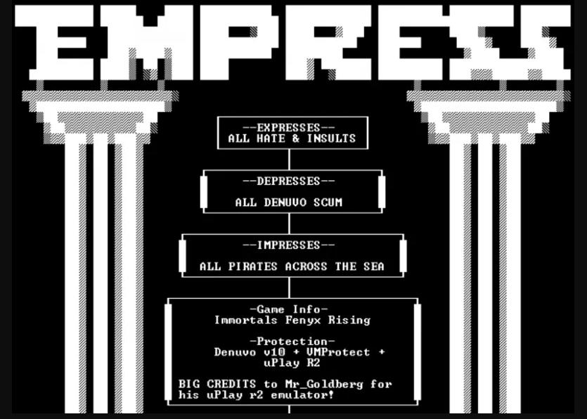 EMPRESS hacked Immortals: Fenyx Rising