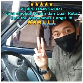 Bismillah.. jasa angkut barang murah amanah VICKY TRANSPORT Rp 40.000