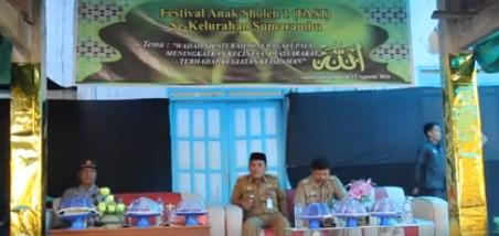 Wali Kota Palopo Buka Festival Anak Saleh