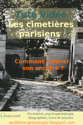 La méthode pour trouver son ancêtre dans les archives des cimetières parisiens