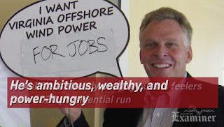 Terry McAuliffe 2020? Name one Democrat who can stop him