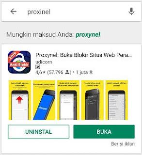 Aplikasi Proxynel