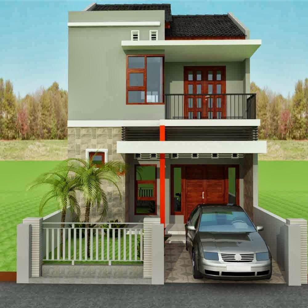 Rab Rumah Minimalis 2 Lantai Excel Dekorhom