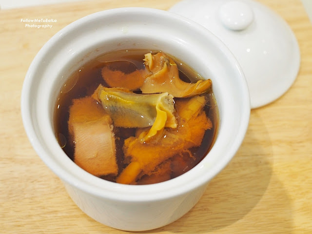 Double Boiled Pork Lean Meat Soup with Sea Whelk and Honey Fig (无花果响螺燉猪展)