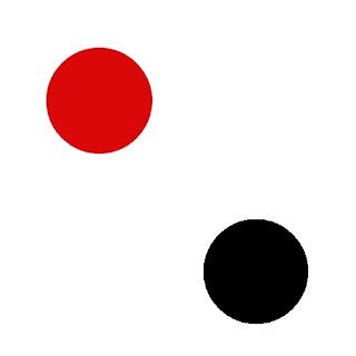 Imágenes para imprimir gratis de Lunares Rojos y Negros.