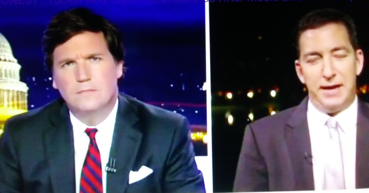 SO DISHONEST': Tucker And Glenn Greenwald Go After Media Lies On Trump-Russia