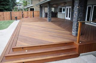 harga lantai Decking kayu outdoor bengkirai