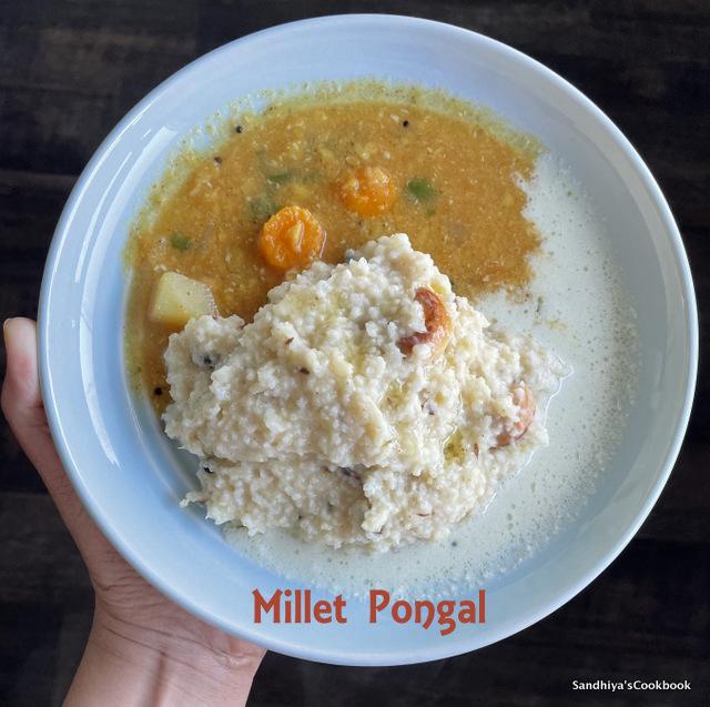 Millet Pongal