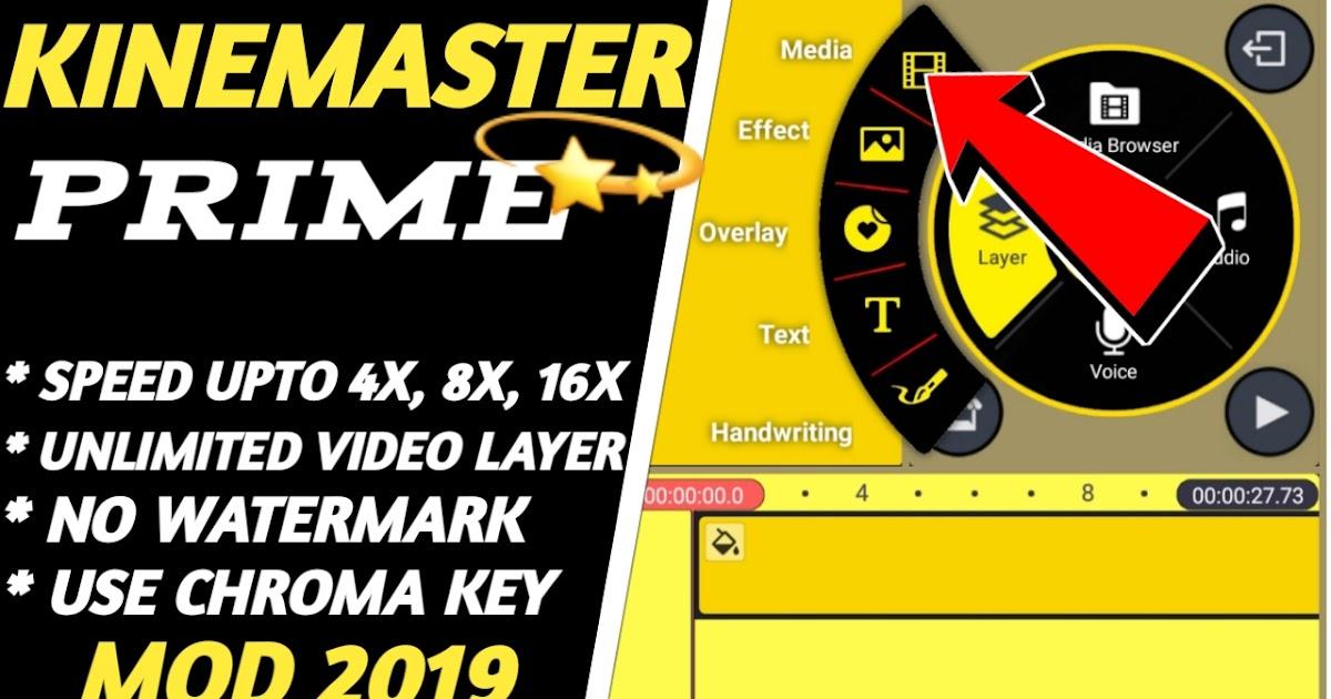 Kinemaster Prime Mod Apk with Yellow Version   No ...