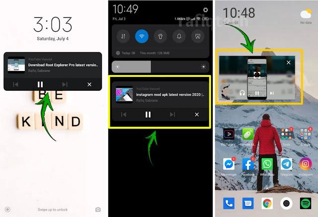كيفية تشغيل مقاطع فيديو يوتيوب  في الخلفية لهواتف الأندرويد بدون روت