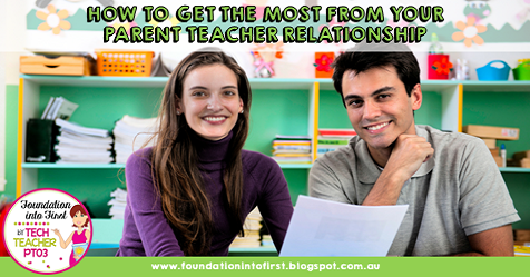 How to get the most from your parent teacher relationship. Tips and hints for building a solid relationship with your student's parents.